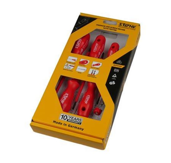Picture of Premium VDE screwdriver with tester